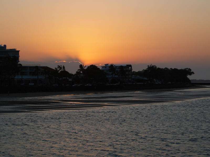 Sundown @ Hervey Bay , Qld.