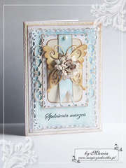 Birthday Card With A Butterfly