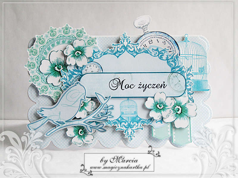 Turquoise Birthday Card