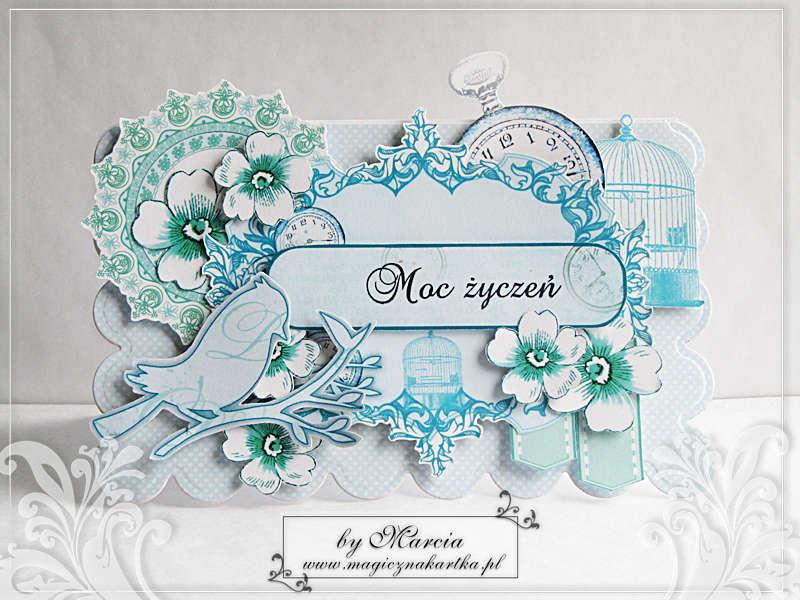 Turquoise Birthday Card