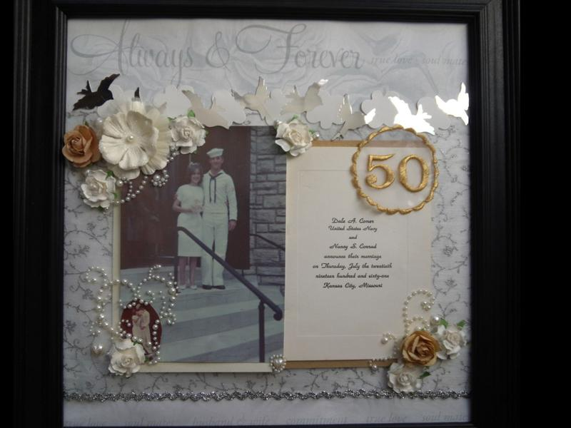 50th Wedding Anniversary Page