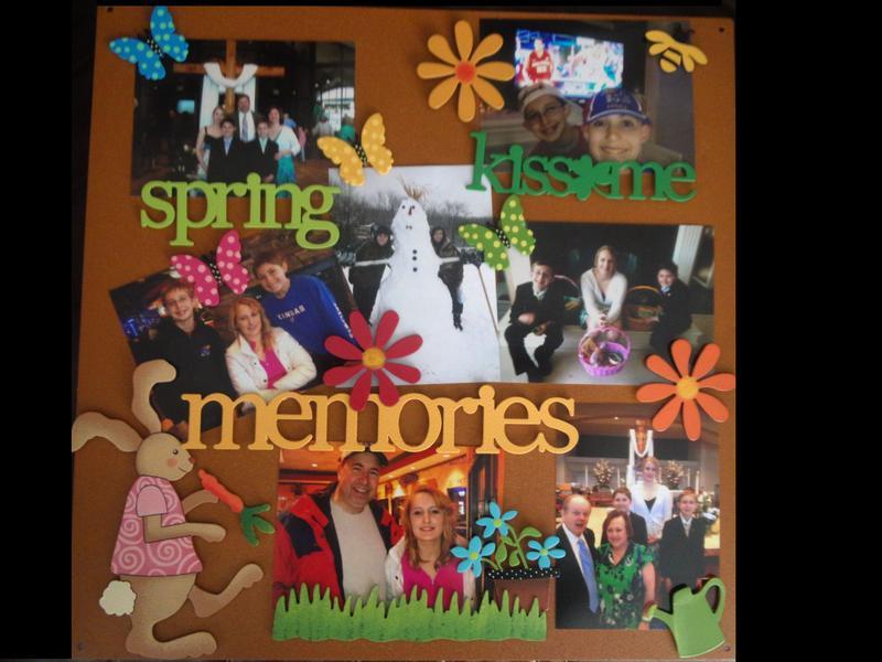 Spring Magnetic Board Display 2013