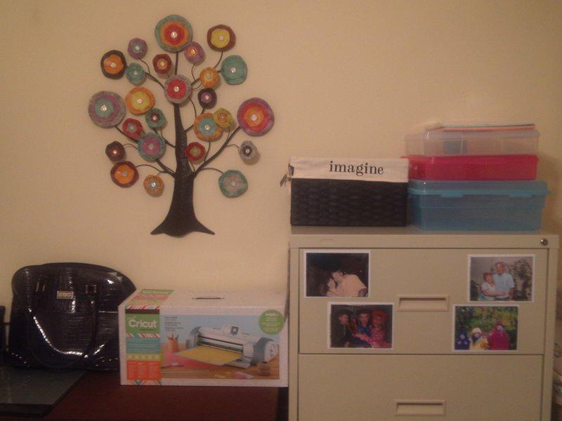 My Scraproom Cut/Storage Area