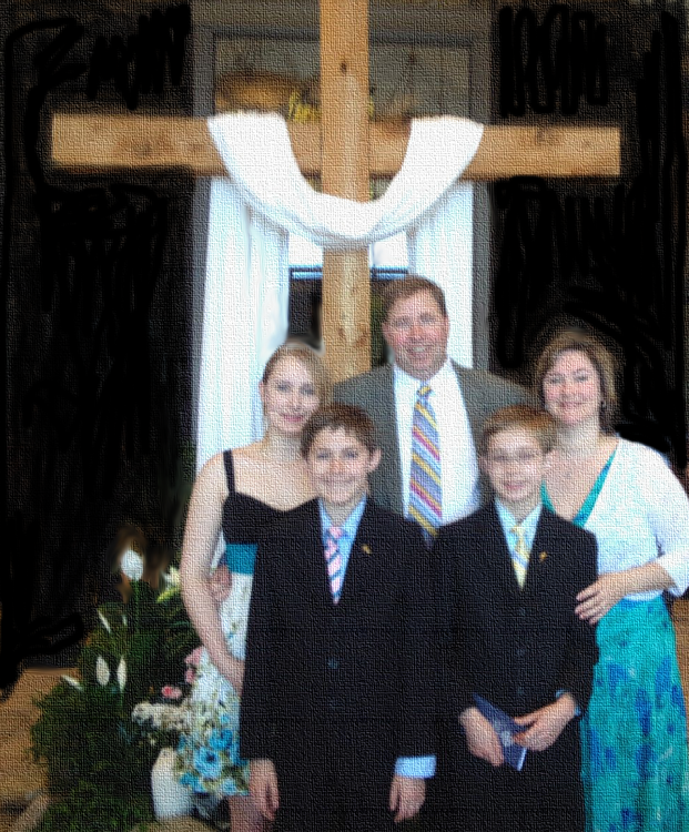 Easter Family Pic 2013