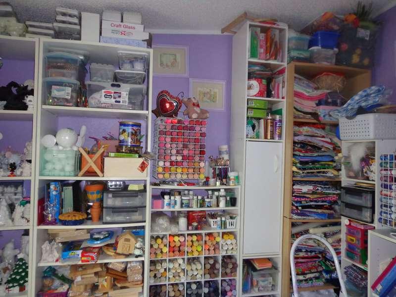 Scrap/craftroom