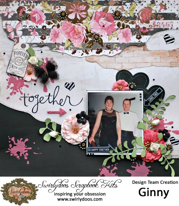 Together***Swirlydoos Kit Club October kit 'Rose Garden'***