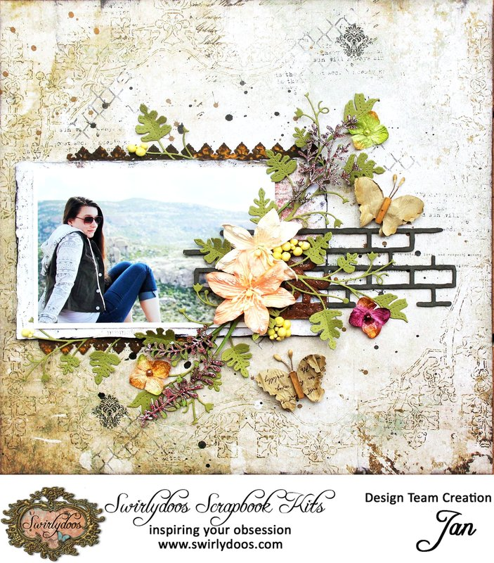 **Swirlydoos** DT project with August kit of the month