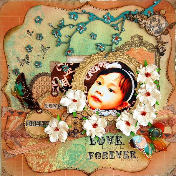 """Love Forever """"Swirlydoos Nov Kit"""""""