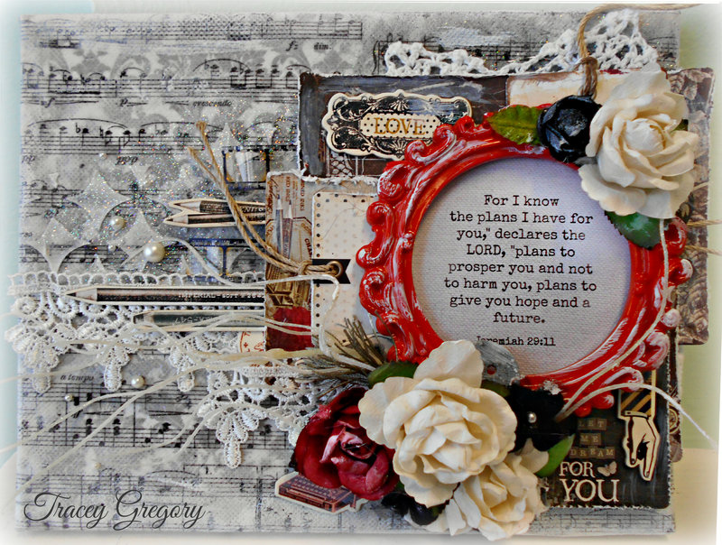 Let Me Dream For You Canvas  **Salutations Kit**