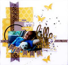 hello sunshine **Swirlydoos** August kit of the month