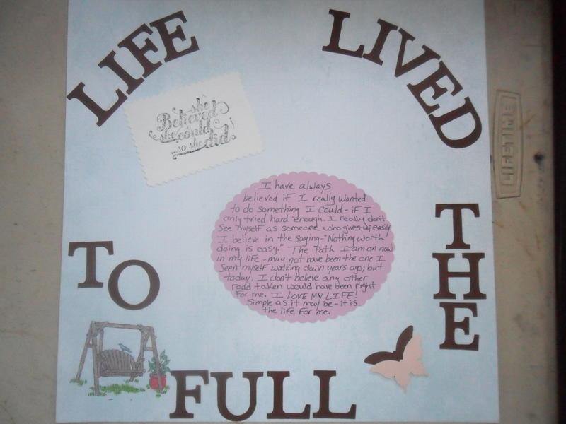 life lived to the full