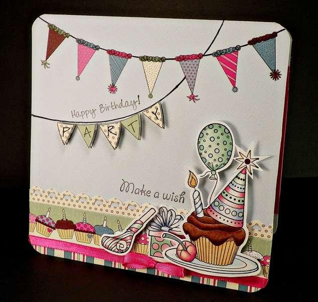Birthday Party Card - Hampton Art DT