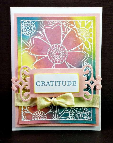 Blooming Gratitude - Hampton Art