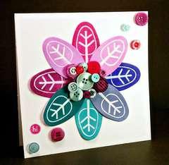 Pretty Petal Card - Hampton Art