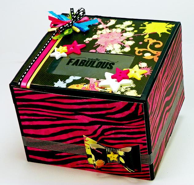 """Fabulous"" Gift Box - DCWV"