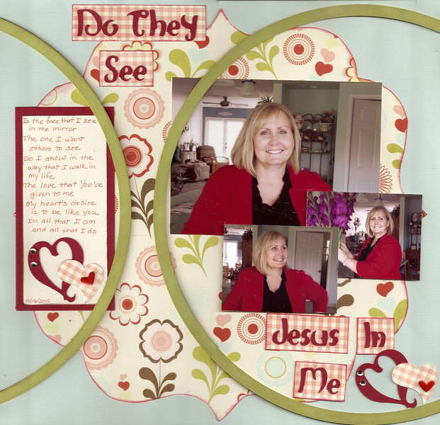Do they see Jesus in Me