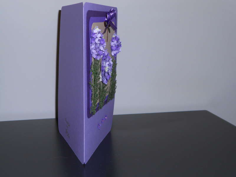 3D GARLIC FLOWER CARD SIDE VIEW 3.0