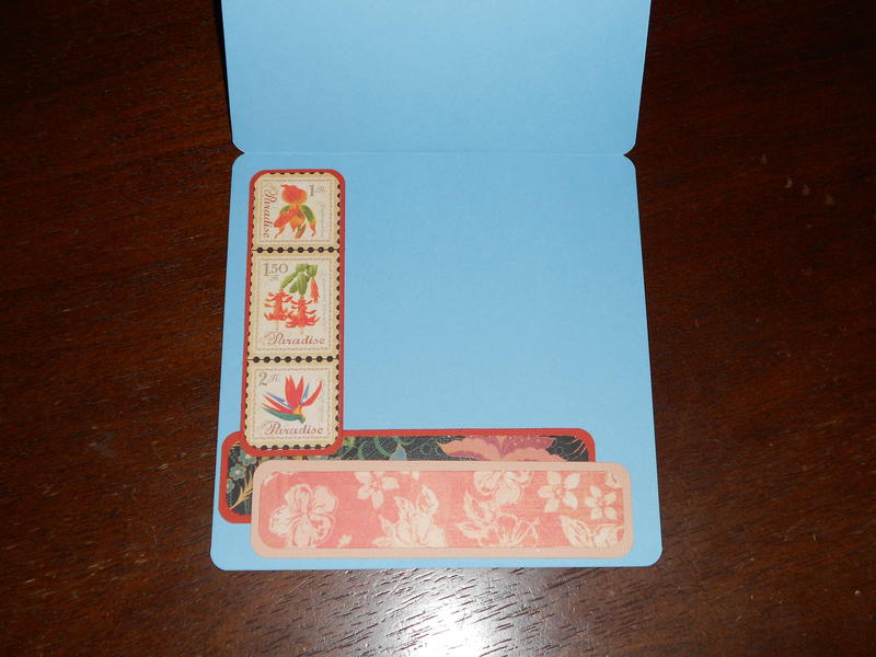 LAYERED STAMP CARD INTERIOR