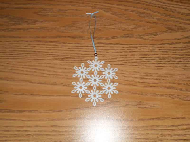 SNOWFLAKE PUNCH ORNAMENT
