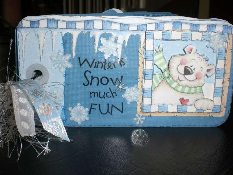 """Tag Book """"Winter Fun"""""""