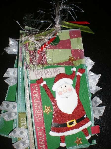 """Tag book """"Santa"""""""