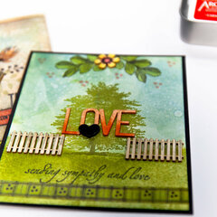 From the FREE Scrapbook.com Class MAKE ART with Wendy Vecchi