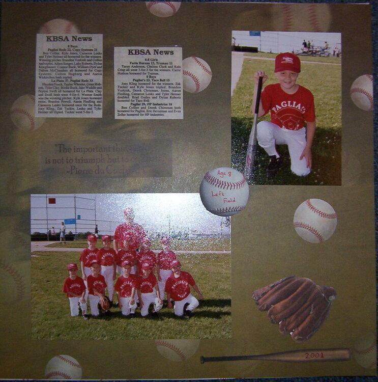 Aaron baseball 2001