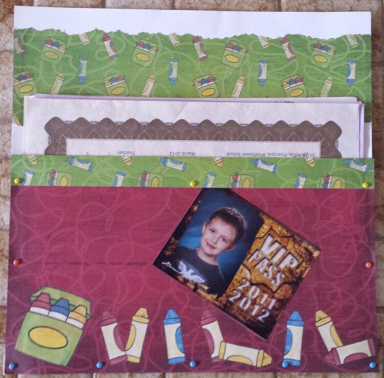 3rd Grade Memory Pocket