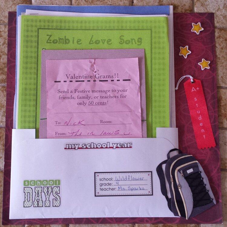 4th Grade Memory Pocket