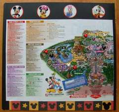 Disney Map Left