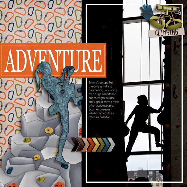 Adventure Rock Page 1