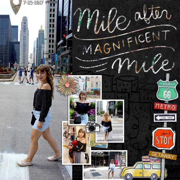 Maginficent Mile
