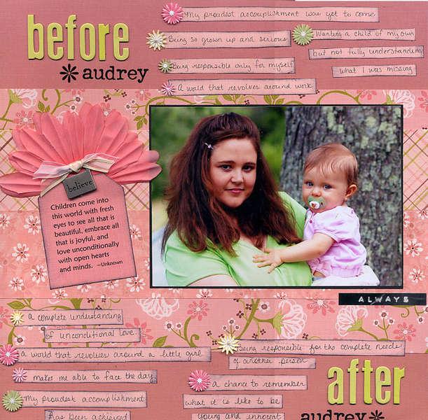 Before Audrey, After Audrey