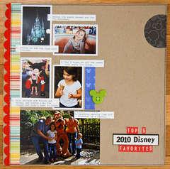 Top 5 2010 Disney Favorites