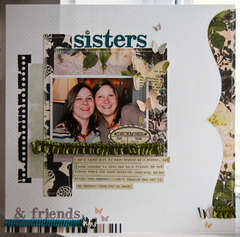 Sisters and Friends **February My Scrapbook Nook Kit**