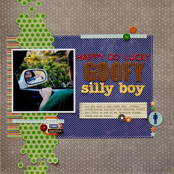 Happy Go Lucky Goofy Silly Boy