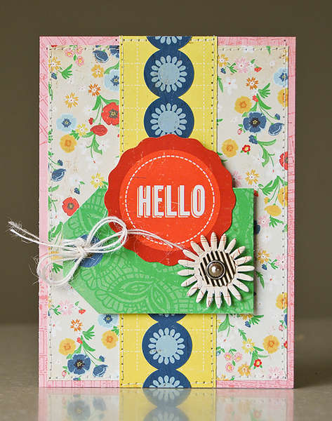 Hello card *April My Scrapbook Nook*