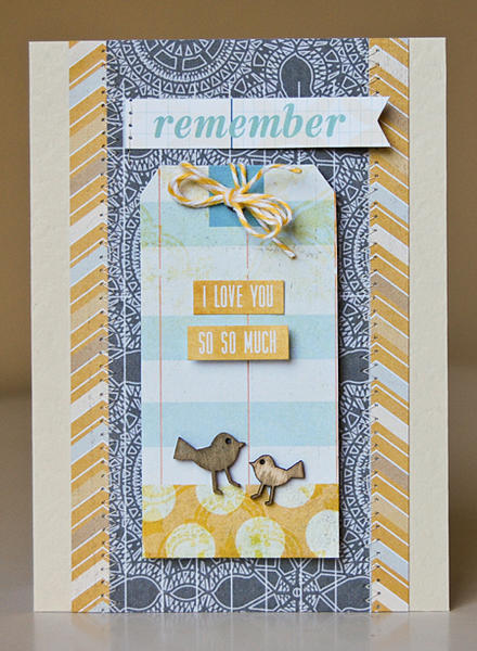 I Love You So So Much card *Scraptastic When Skies Are Grey kit*