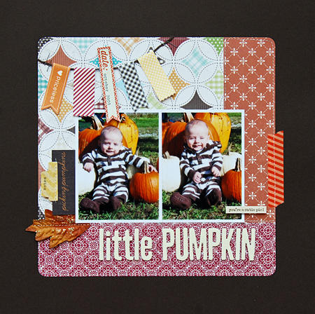 Little Pumpkin *Scraptastic Farmer's Market kit*