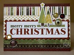 Merry Merry Christmas card