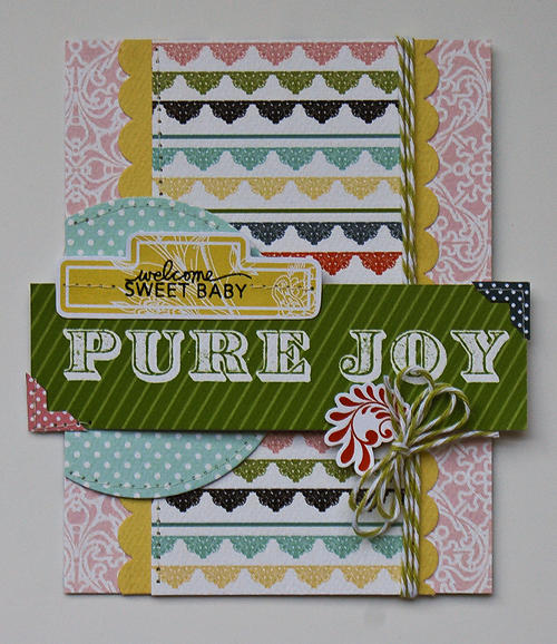 Pure Joy card