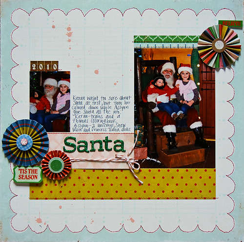 Santa 2010 *December My Scrapbook Nook*