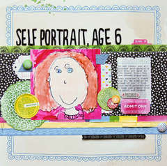 Self Prtrait, Age 6