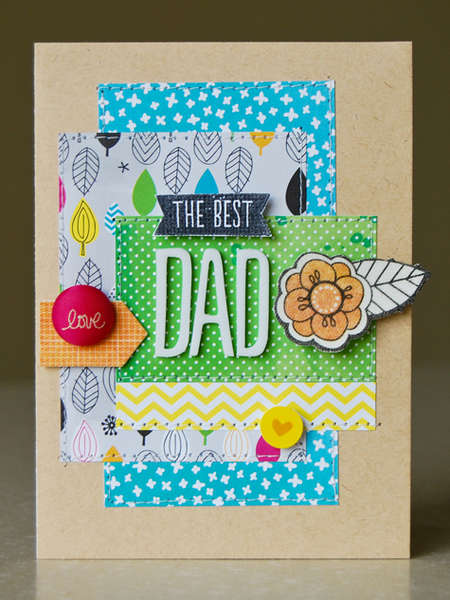 The Best Dad card