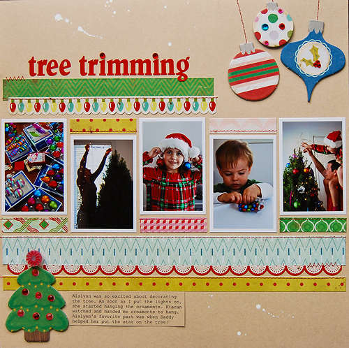 Tree Trimming *December My Scrapnook Nook*