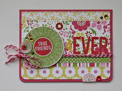 True Friends 4Ever card