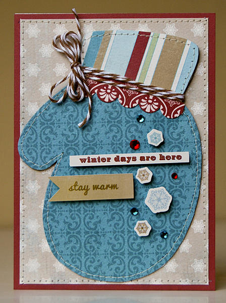 Winter Days Are Here card