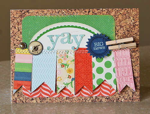 Yay card *April My Scrapbook Nook*
