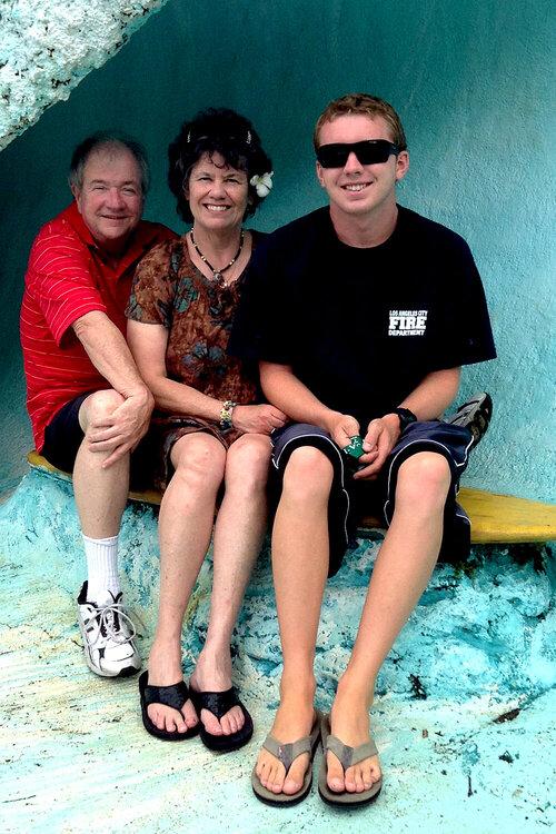 my family in Kaui