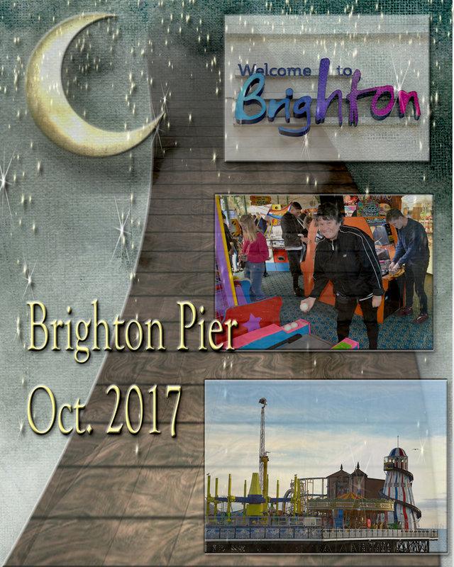 Brighton Pier digital lo